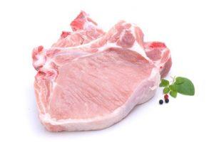 Bio Kotelett vom Bioland-Schwein
