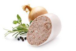 Bio Röstzwiebelleberwurst aus Herrmannsdorf